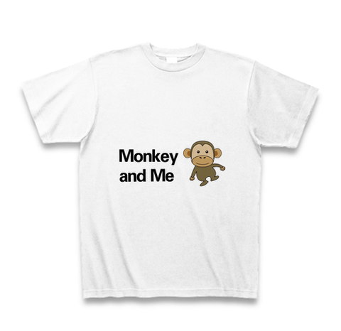 Monkey and Me Tシャツ