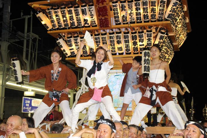 ■平成30年10月7日 第70回前橋まつり 神輿愛好会粋燈睦 その7