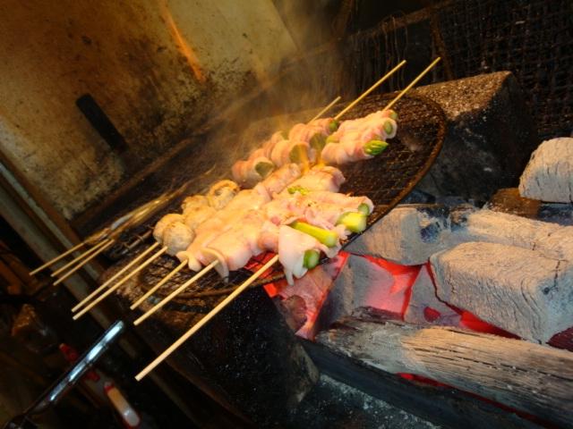 串、焼き場