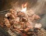 地鶏もも炭火焼