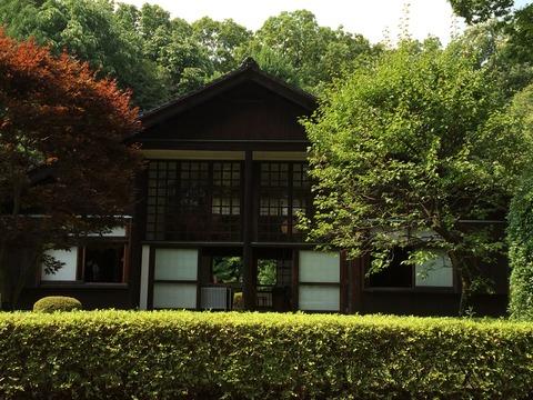 前川圀男邸庭