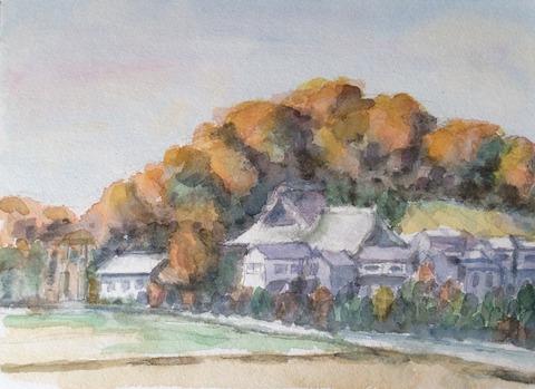 秋の観音山