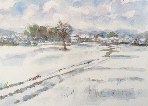 2018雪景色