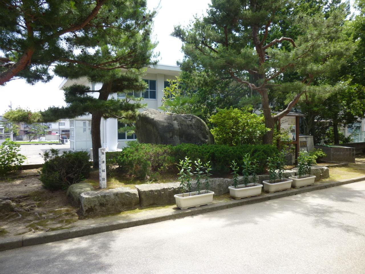 城とか陵墓とか : 魚津城