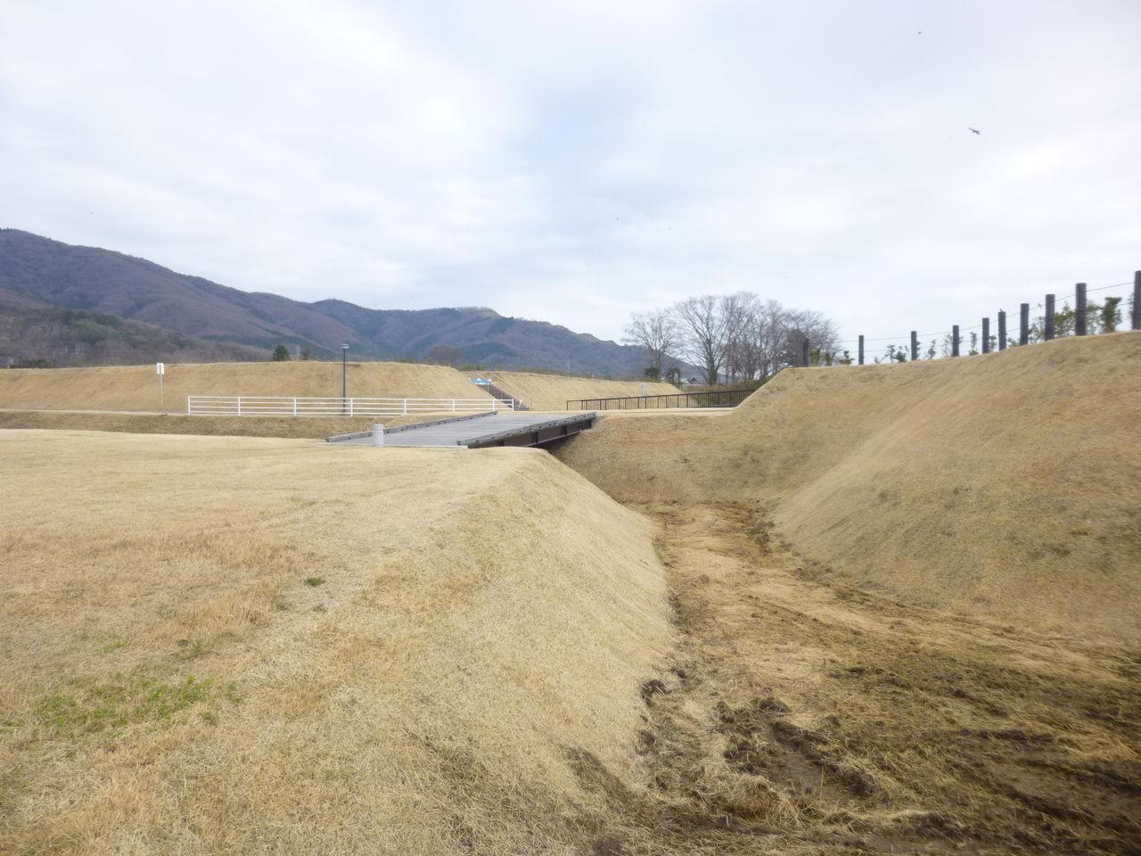城とか陵墓とか : 小田城