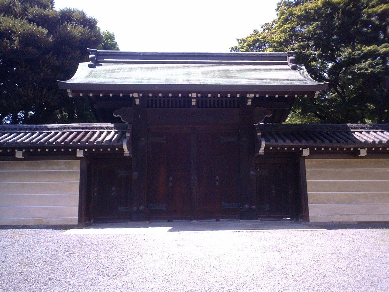 城とか陵墓とか : 豊島岡墓地