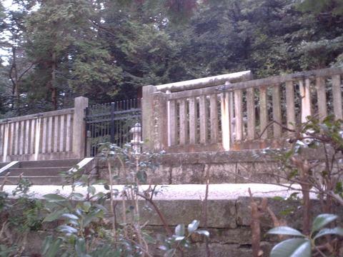 城とか陵墓とか : 後三条天皇陵