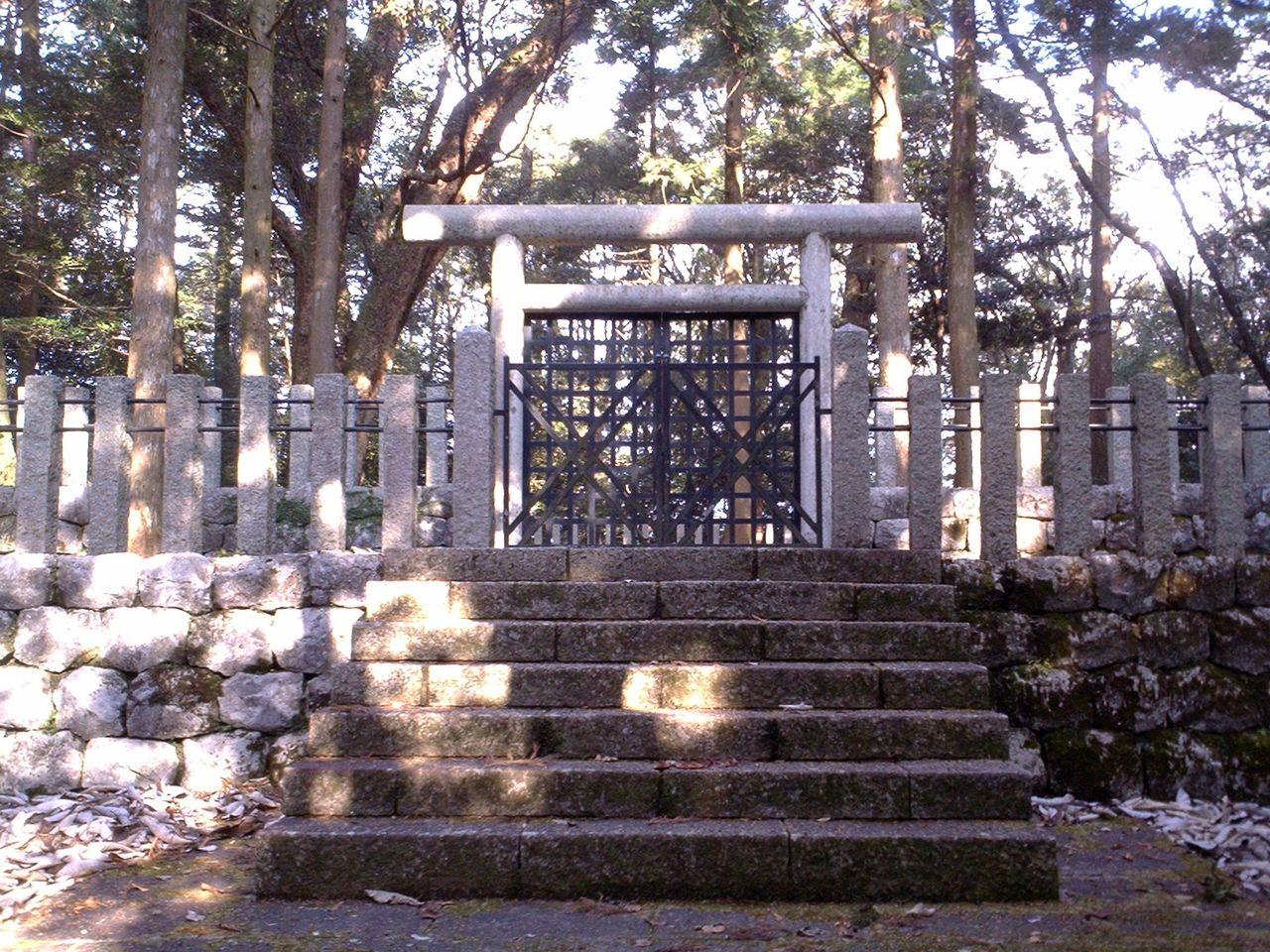 城とか陵墓とか : 越智陵墓参考...