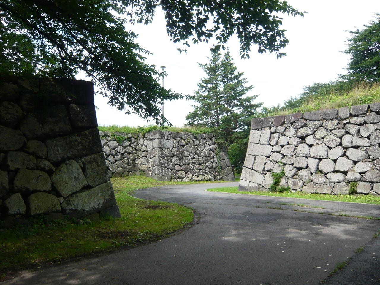 城とか陵墓とか : 山形城