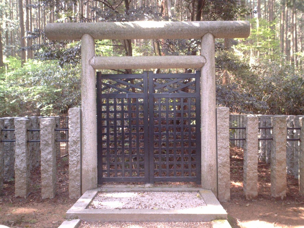城とか陵墓とか : 道助親王墓