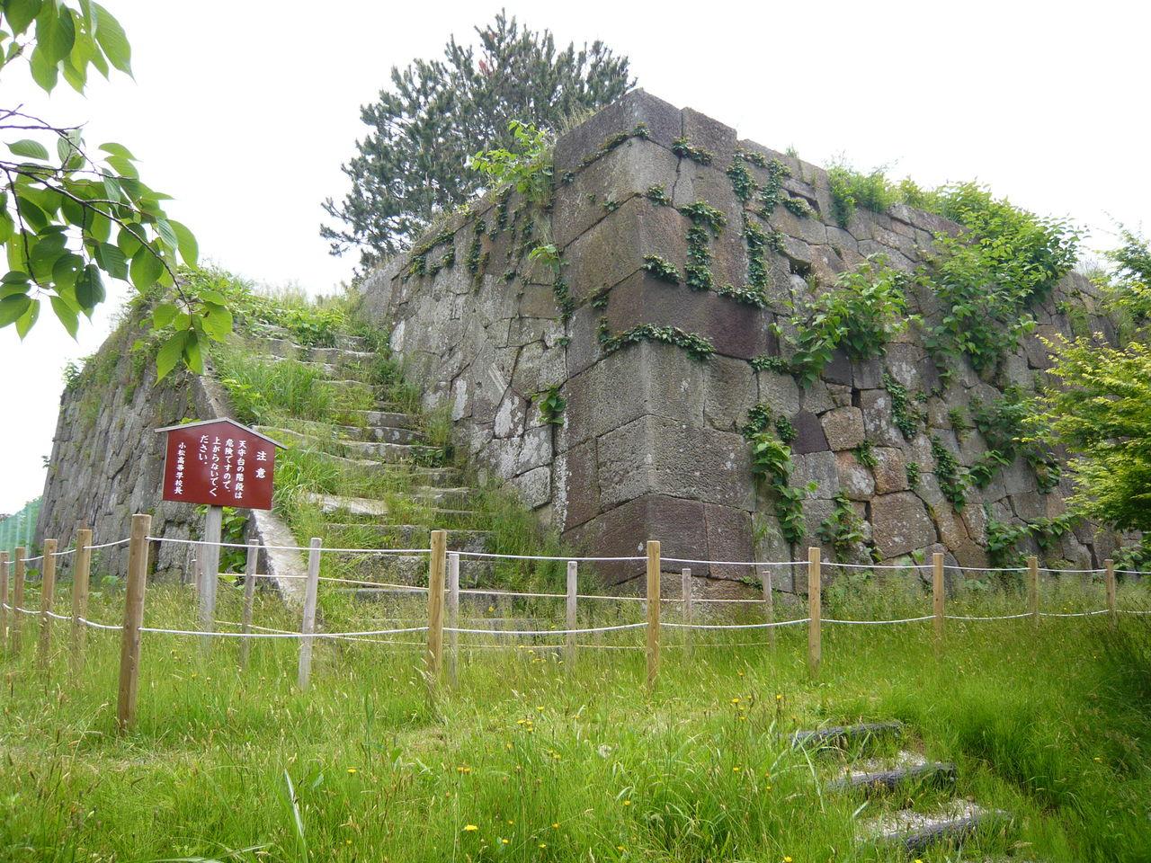 城とか陵墓とか : 小松城