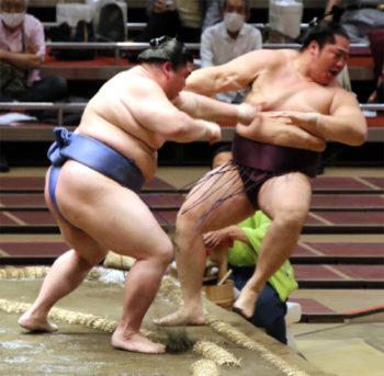 ■九月3日目 正代、強さと意欲の相撲