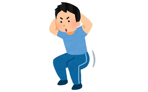 スクワットのみで痩せることは可能か?