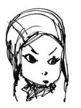 頭巾girl