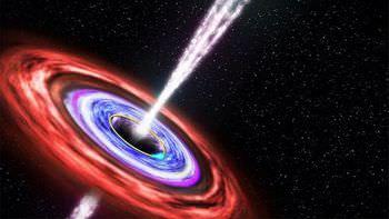 ブラックホール 中