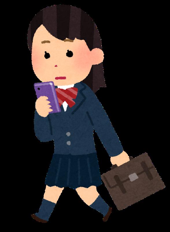 smartphone_schoolgirl_walk