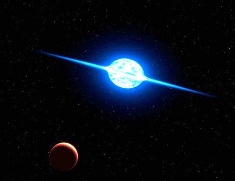 自転速度が秒速600㎞!ハンパない恒星「VFTS102」とは?