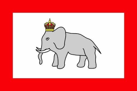 ダホメ王国の国旗がヤバい!