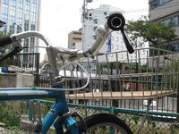 自転車の 自転車 日本橋 ショップ : かわった形のリアディレーラー ...