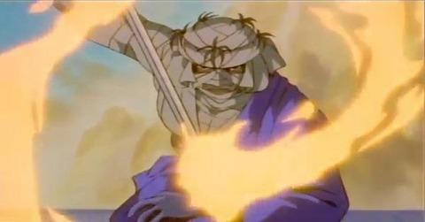 59f6ef8a s - 【るろうに剣心】るろうに剣心の実質ラスボスという大役を務めた志々雄真実の『三つの秘剣』←これさwwwwwwww