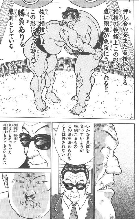 b07b0b75 s - 【朗報】刃牙相撲編、最強VS最強の戦いがついに始まってしまうwww