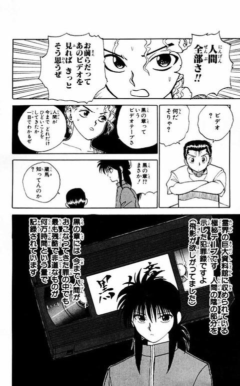 d72a3eba s - 【議論】幽遊白書の主人公はなぜ不人気なのか?????