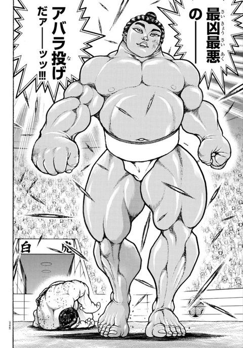 fec8d095 s - 【悲報】バキ道の最強横綱・零鵬さん、もうやられるwwwww