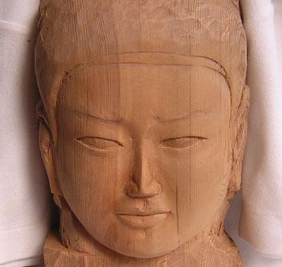 阿修羅像の正面の顔