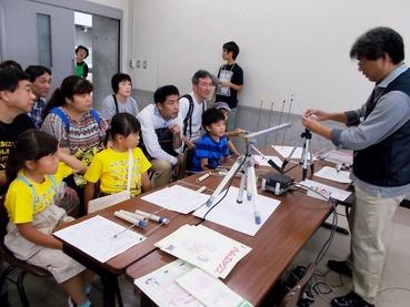 170924青少年科学く・無線電波実験