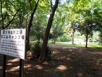 170711調布・カニ山キャンプ場