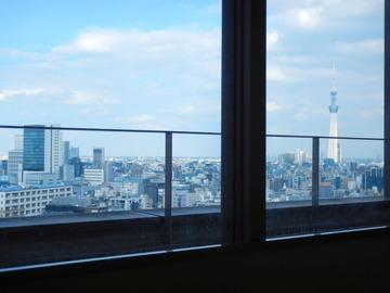 210921入院東京北東部景色見える窓