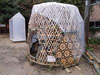 竹かご部屋