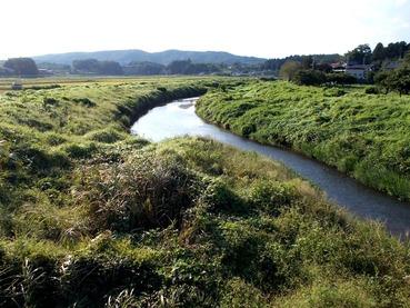 170914涸沼川石橋から上流(西側)