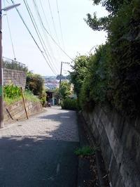 170711手押しで登る崖線
