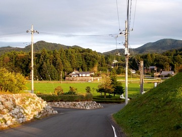 170914振返り見る集落とカラオケ山