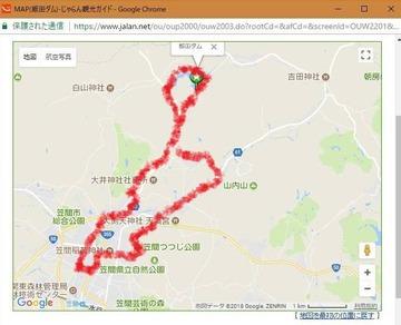 180430ママチャリツアー飯田湖地図A