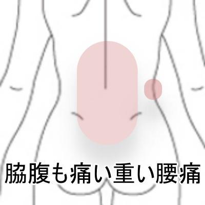 脇腹腰痛 1