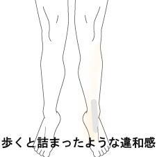 足首の違和感