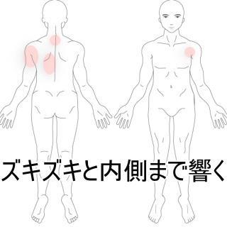 ズキズキと響く首の痛み