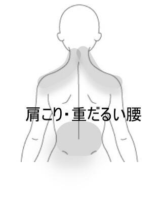 肩こり腰痛