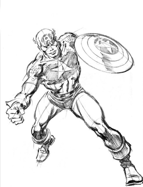 John_Buscema_MarvelWay_Captain_America