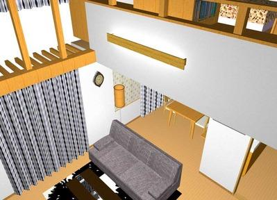 改修プラン3(2階ホール)3