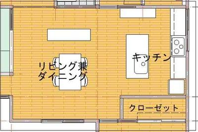 改修プラン2(キッチンⅡ-2図)