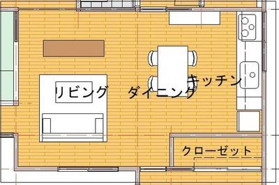 改修プラン2(キッチンⅠ図)