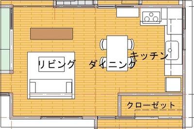 改修プラン2(キッチンL図)