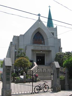 カトリック山手教会聖堂