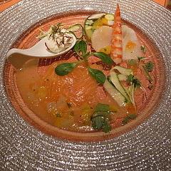 091215新鮮海の幸と季節野菜のブレッセ