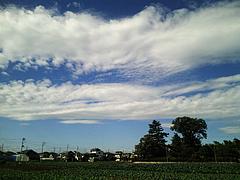 101027青空と雲