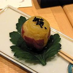 101207五郎島金時芋の茶巾絞り