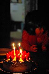 091208誕生ケーキ